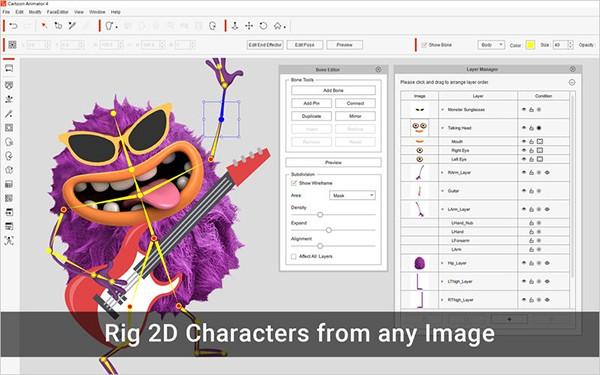 Cartoon Animator 4专业版for Mac