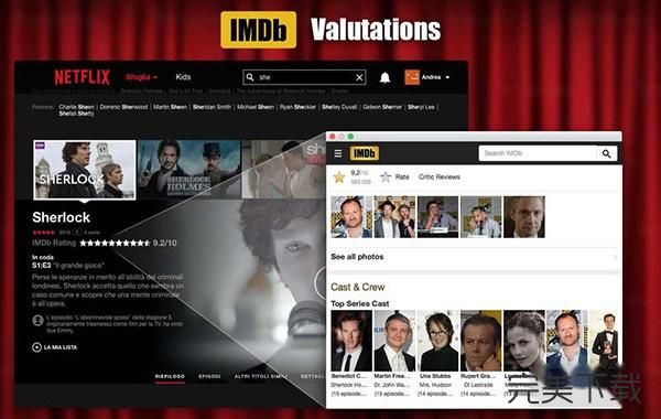 Cinema for Netflix Mac版