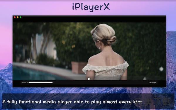 iPlayerX for Mac
