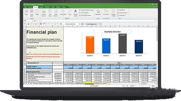 PlanMaker for Mac