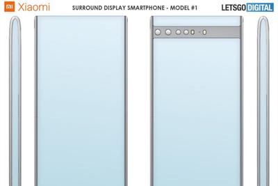 MIX Alpha进化版!小米全新环绕屏专利曝光:顶部和底部都是屏
