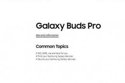 对标AirPods Pro!三星Galaxy Buds Pro官网页面泄露:型号确认