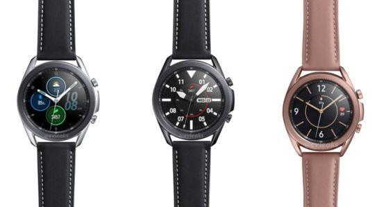 ▲目前在售的Galaxy Watch 3