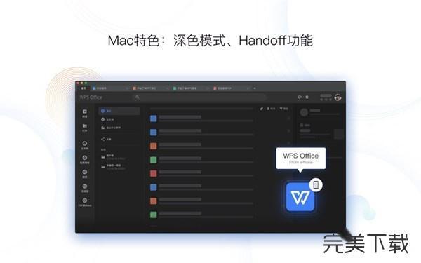 wps for Mac