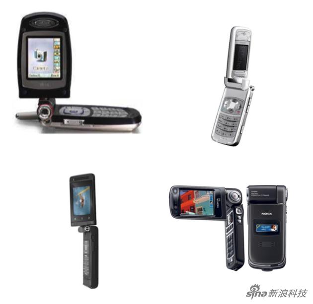 诺基亚 N93 LG G7100 西门子 SF65 Sagem myMobileTV 2
