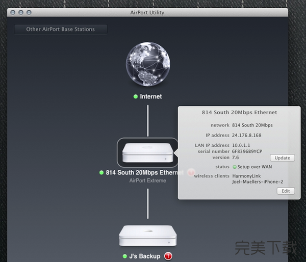 AirPort Utility for Mac