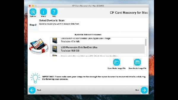 CF Card Recovery Mac版
