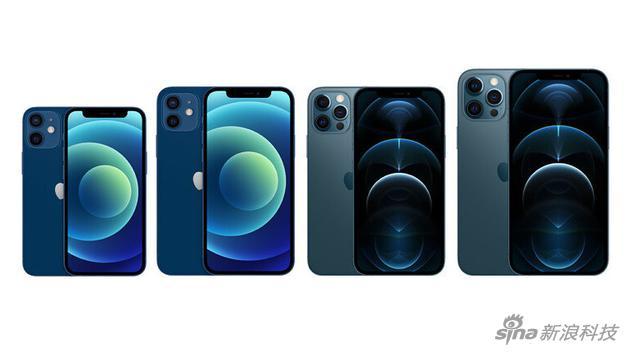 iPhone 12系列有四款产品