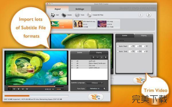 Mac视频刻录软件
