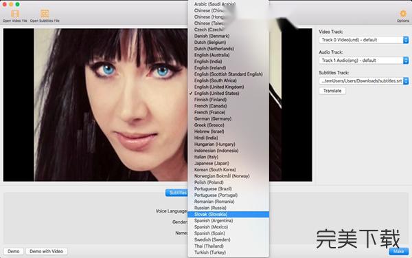 SubToSpeech Mac版