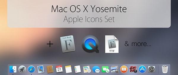 OS X 10.10Yosemite官方图标