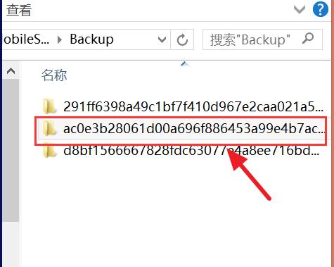 iTunes文件备份在哪?win10查看iTunes文件的方法(3)