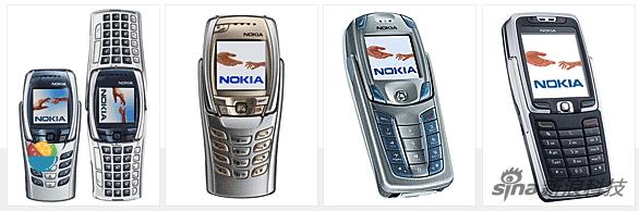 诺基亚 6800 • 诺基亚 6810 • 诺基亚 6820 • 诺基亚 E70