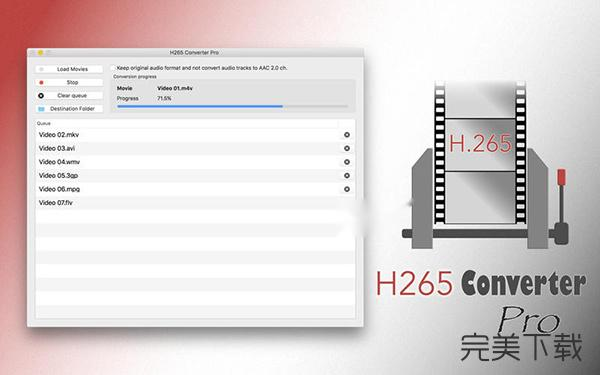 H265 Converter Pro for Mac