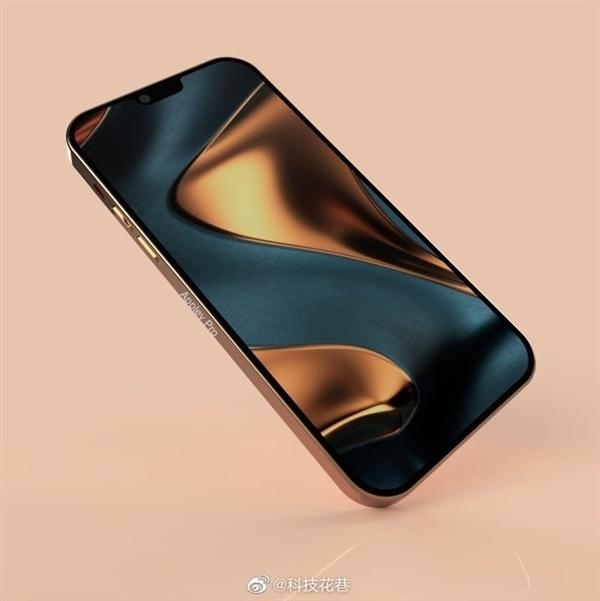 网曝iPhone 13渲染图