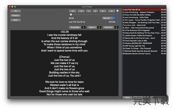 LyricsPlayer Mac版