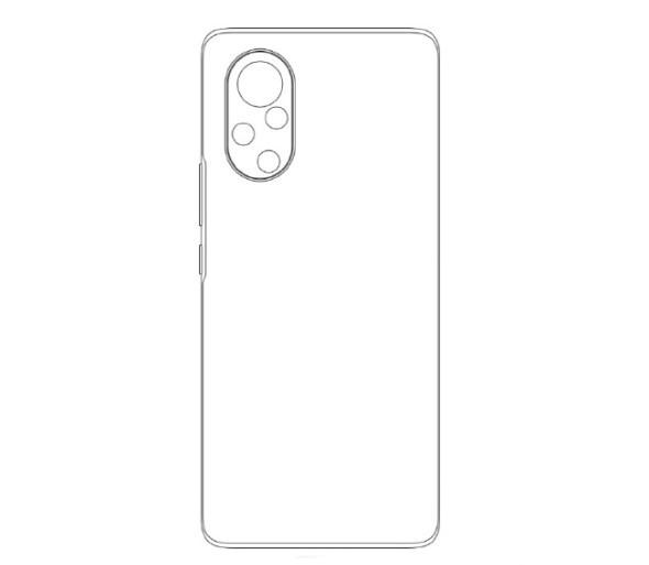 华为多个手机外观专利亮相