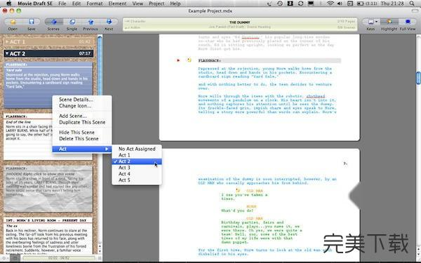 Movie Draft SE Mac版