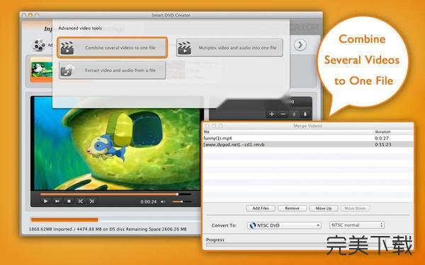 Smart dvd creator Mac版