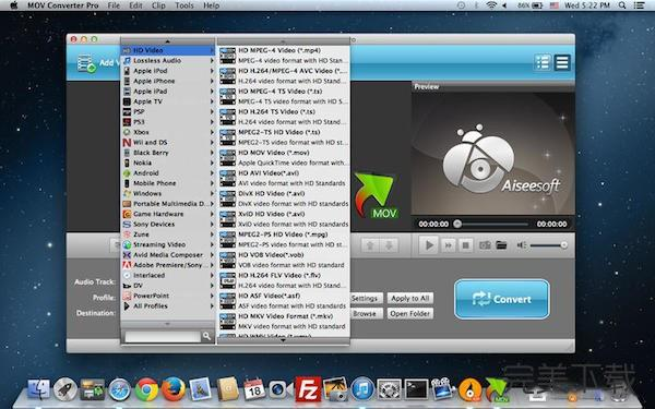MOV Converter Pro for Mac