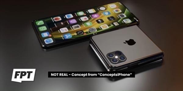 折叠屏iPhone将去除沿用多年的刘海