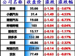美股科技股持续反弹,英伟达、AMD 涨逾 5%,理想汽车大跌 6.7%