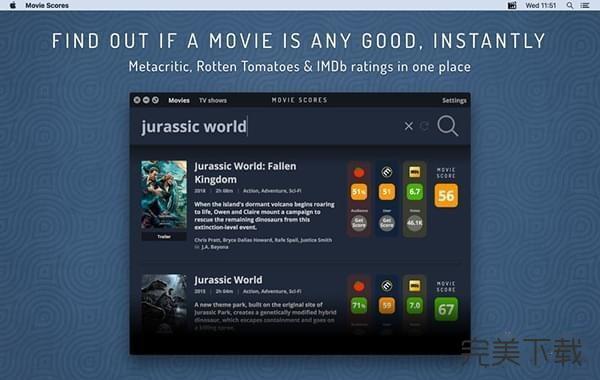 Movie Scores Mac版
