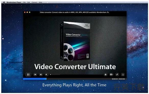 Wondershare Player Mac版播