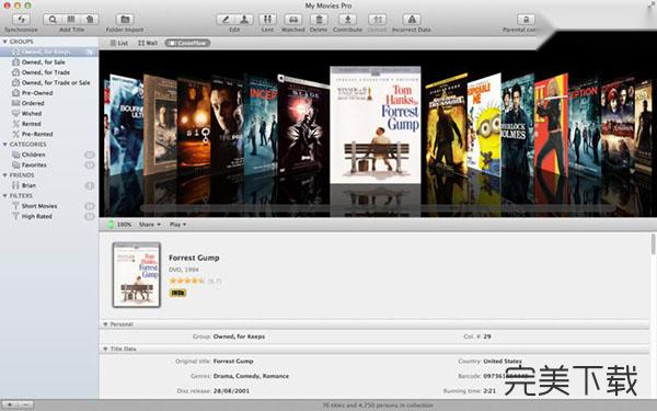 My Movies for Mac