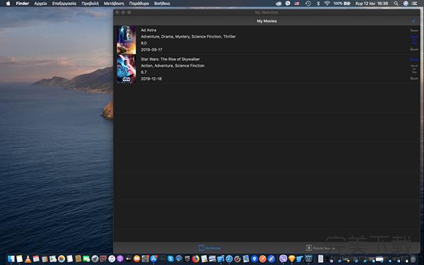 My Watchlist Mac版