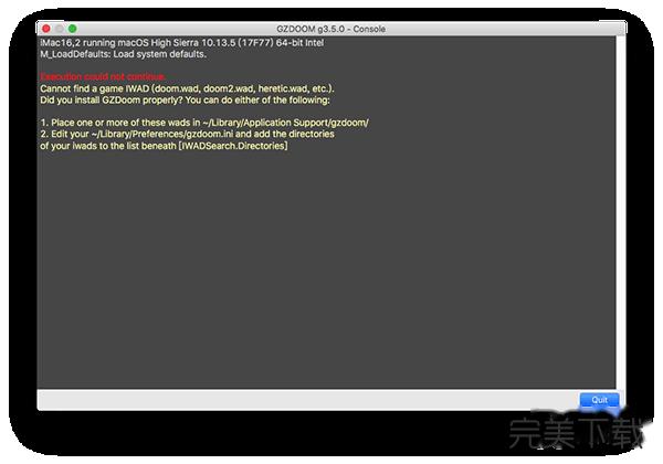 GZDoom Mac版