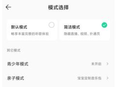 "QQ 音乐内测""简洁模式"",此前已发布简洁版 App"