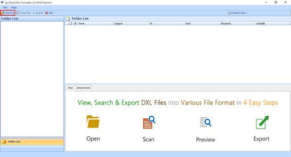 SysTools DXL to PST Converte(DXL转PST工具)