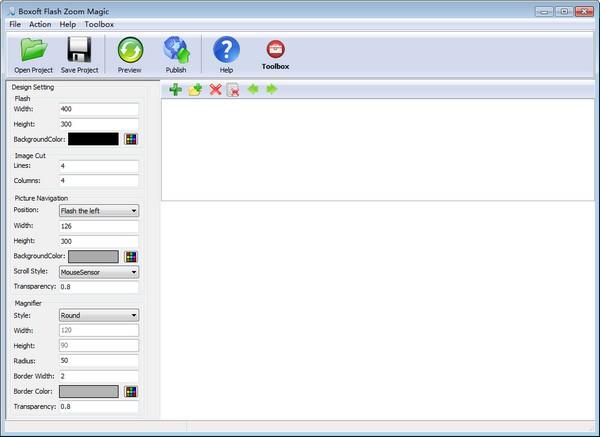 Boxoft Flash Zoom Magic(图片浏览软件)