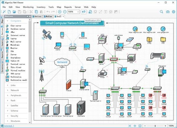 Algorius Net Viewer(网络可视化管理软件)