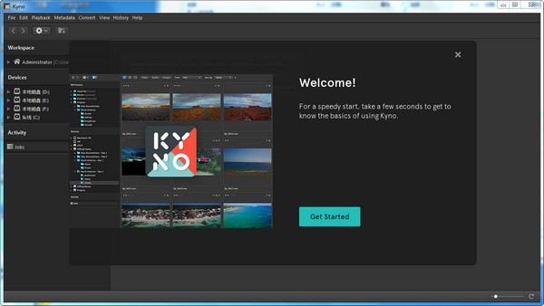 Lesspain Kyno Premium(媒体管理系统)