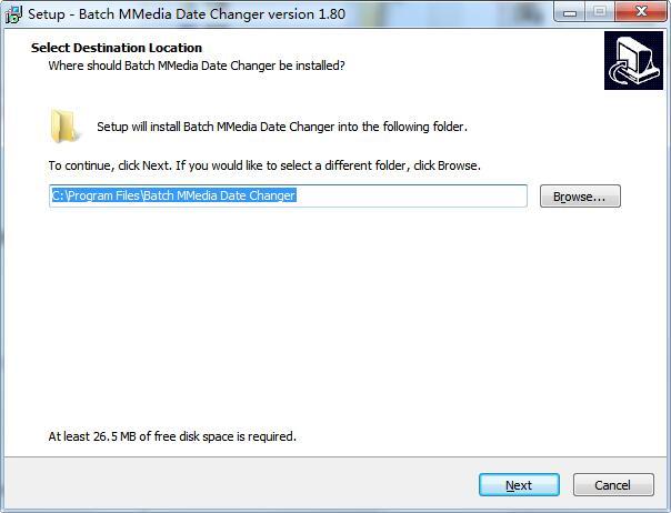 Batch MMedia Date Changer截图
