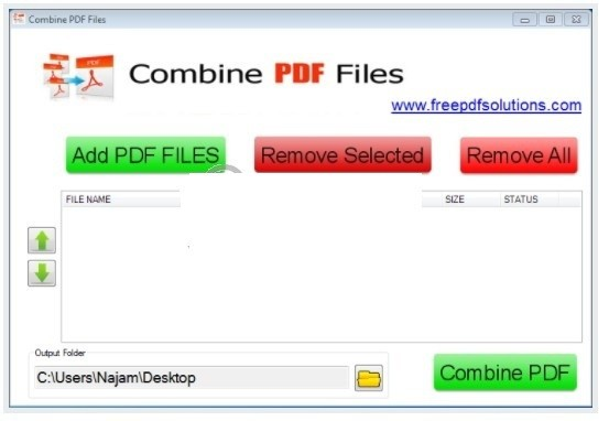Combine PDF Files(PDF合并软件)