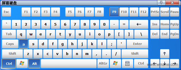 On-Screen Keyboard软件截图