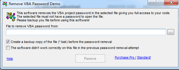 Remove VBA Password的教程