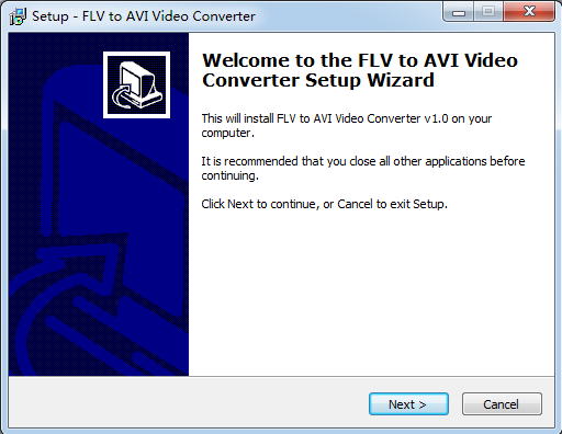 FLV to AVI Video Converter的教程