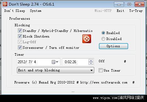 Dont Sleep 64位软件截图