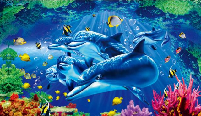 3d海底世界动态桌面的教程