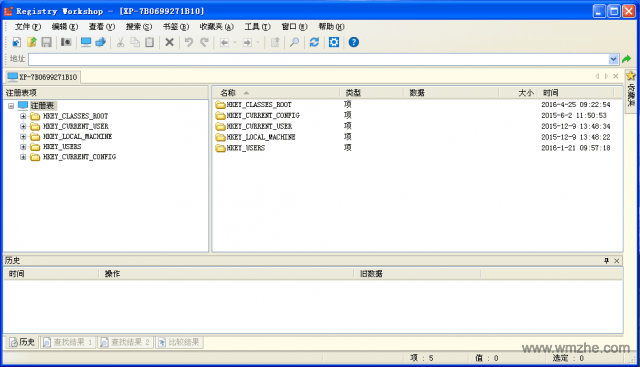 registry workshop软件截图