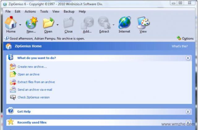 ZipGenius软件截图