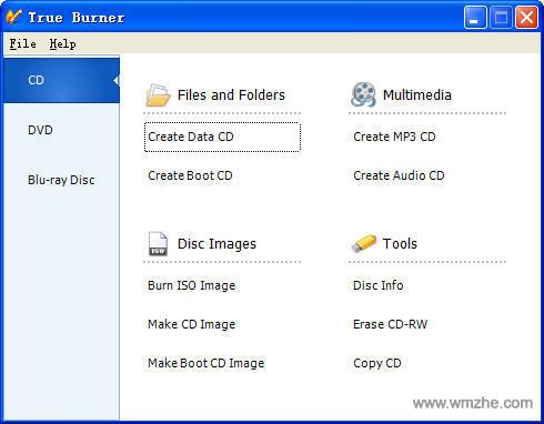 True Burner(光盘刻录软件)软件截图